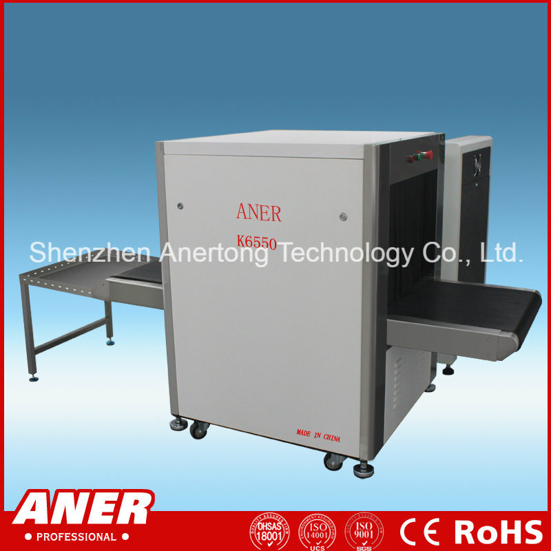 K6550 X Ray Baggage Scanner for Military, Government, Commercial Building