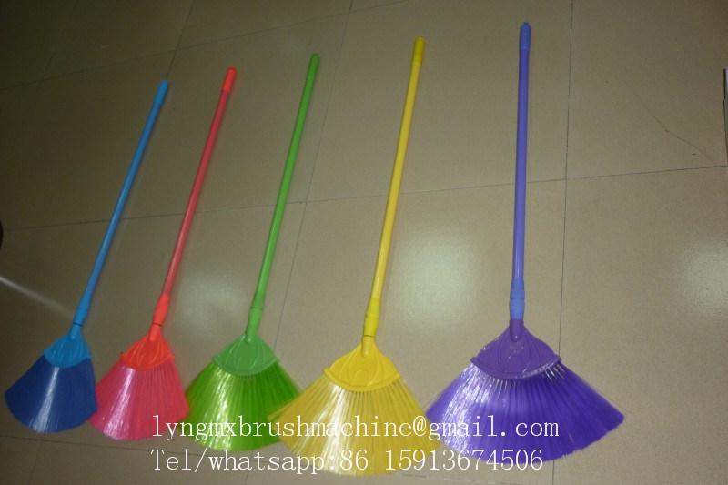 3 Axis CNC Fan Shape Ceiling Broom Machine