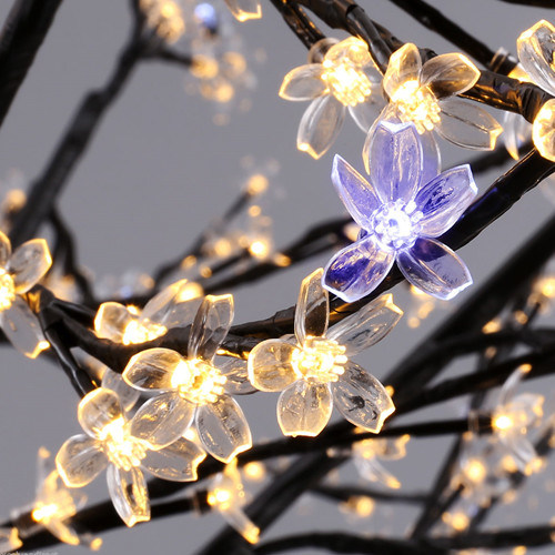 Commercial Cherry Christmas LED Tree Twig Lights for Festival Decoration