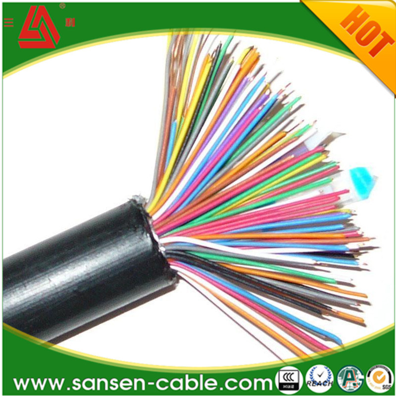 450/750V PVC Insulation Copper Wire Braided Shielded Flexible Control Wire