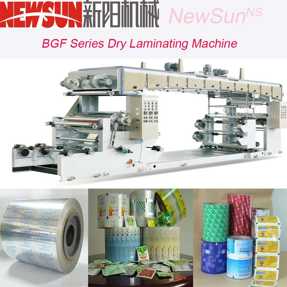 Bgf Series Aluminum-Plastic Compounding Dry Laminating Machine