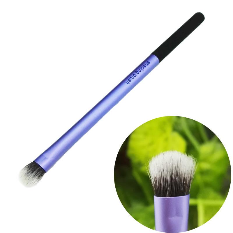 Wholesales Cheap Makeup Eyeshadow Eye Shading Brush with Metal Handle