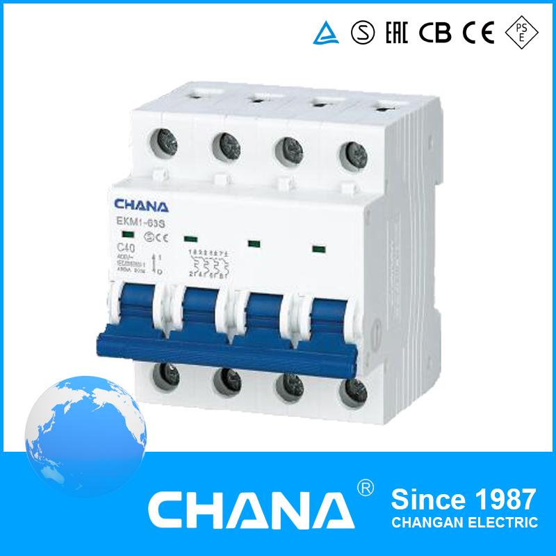 6ka New Type High Breaking Capacity Mini Circuit Breaker (MCB)