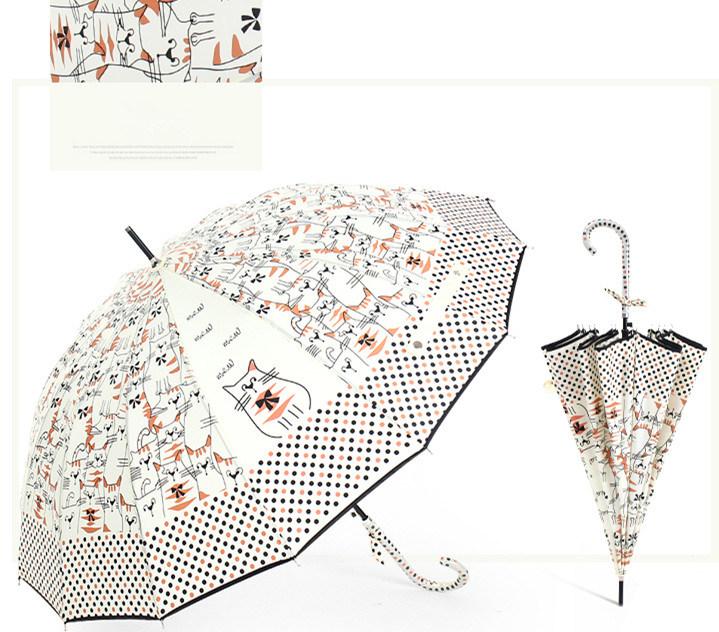 Originality Straight Rod Automatically Umbrella