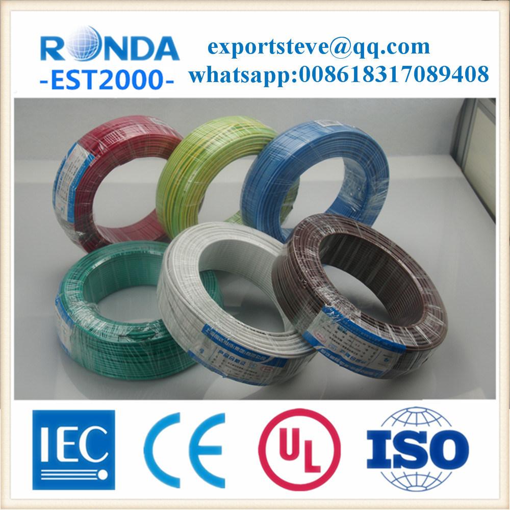 Flexible PVC Insulated Copper Core Electric Wire