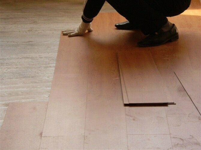 HDF AC3 Lamiated Art Parquet