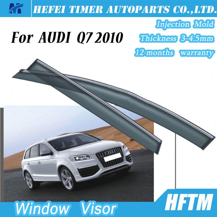Car Parts 100% Matched Window Visors Door Visor for Audi Q7 2010