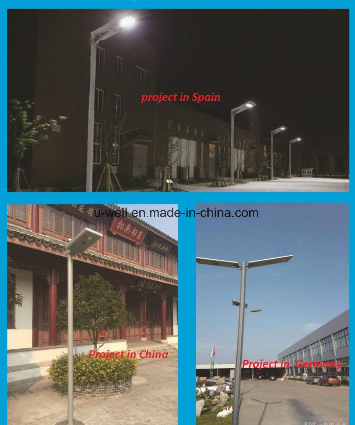 30W All-in-One/ Integrated Solar Garden LED Street Light