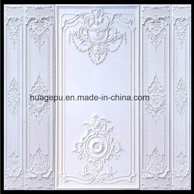 PU Foam 3D Art Wall Plaque for Decoration