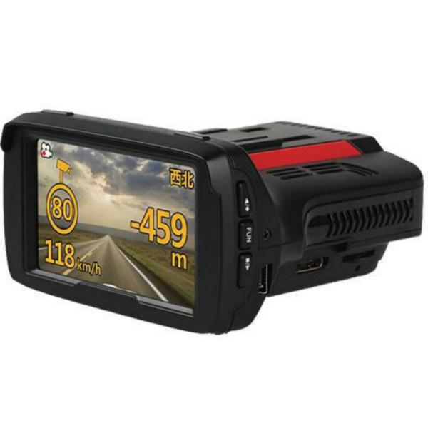 Car DVR with Radar Detector and GPS Tracker