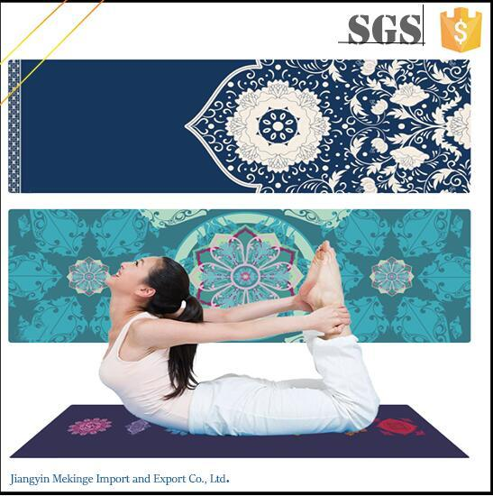 Welcome to Map Custom Digital Printed Yoga Mat Exercise Equipment