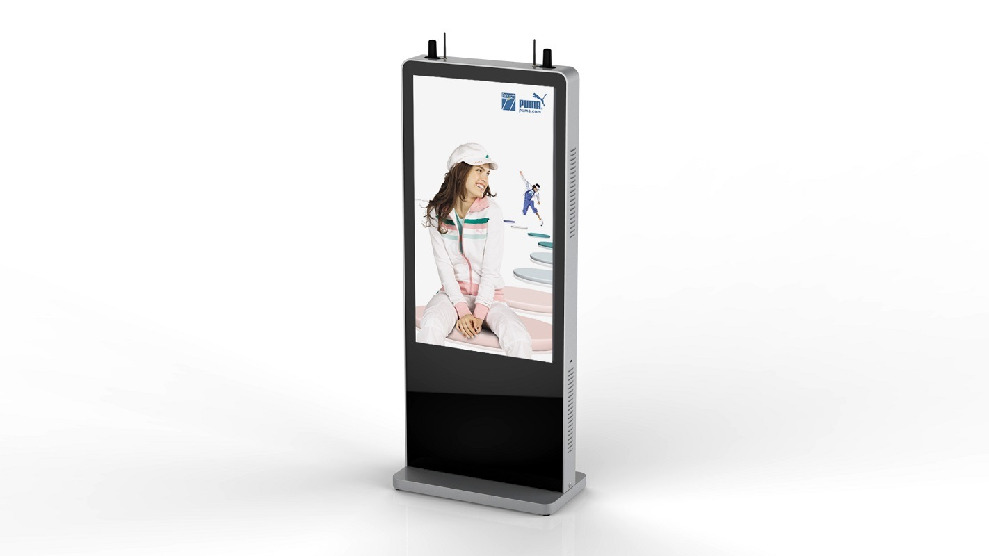 55inch Dual Side Android Based Digital Signage Kiosk