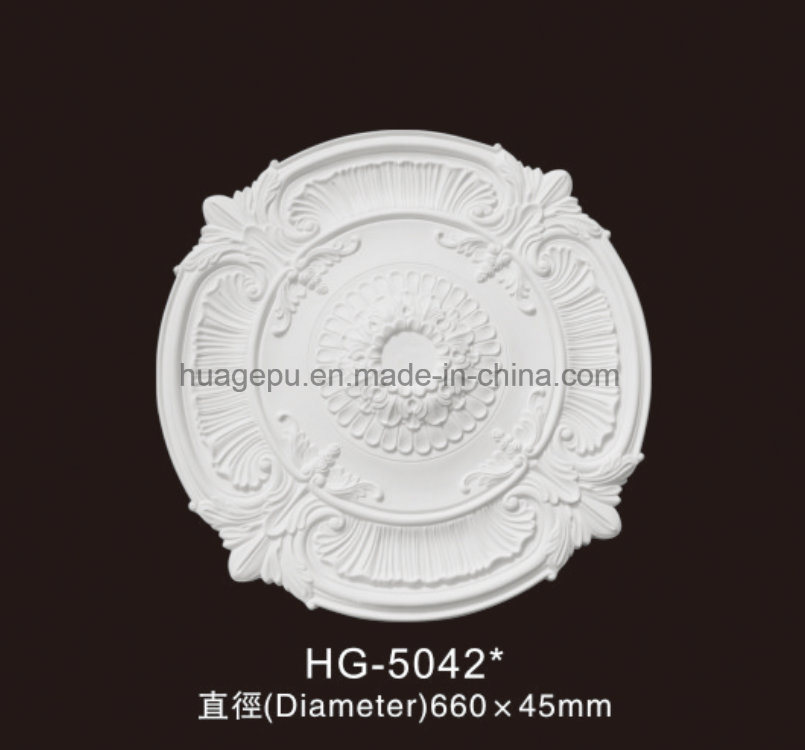 Artistic PU Ceiling Medallions for Building Decoration