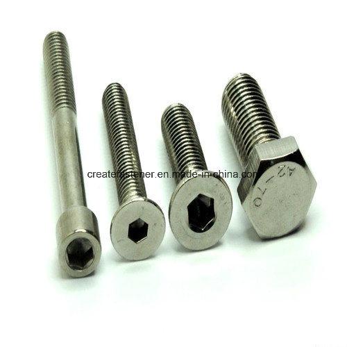 Hex Socket Cap Screws for DIN912/ ASTM A574/BS2470/JIS1176/GB T70-76/70-85/ISO7380