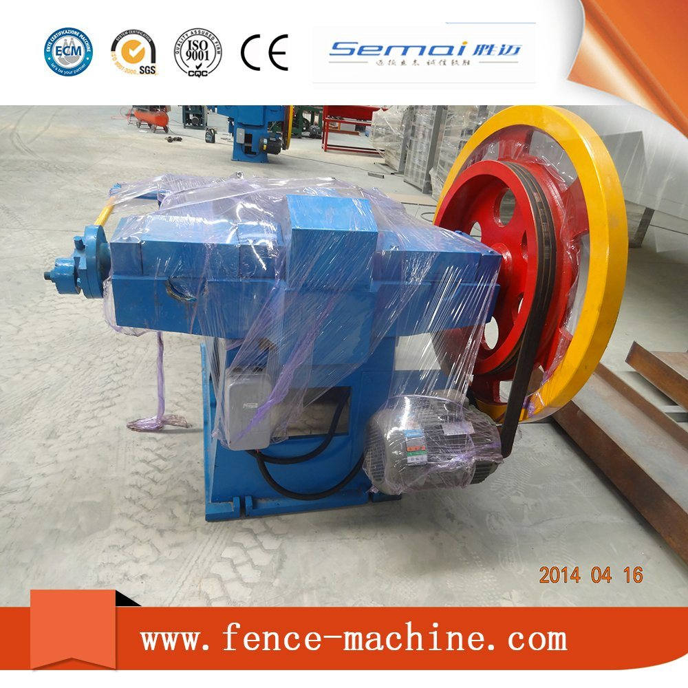 Automatic and New Wire Drawing Machine for Making Nails