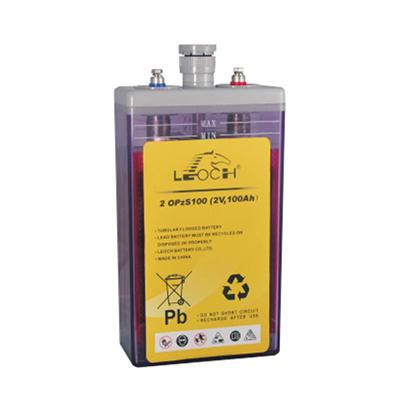 Long Life Tubular Batteries Opzs 2V 100ah