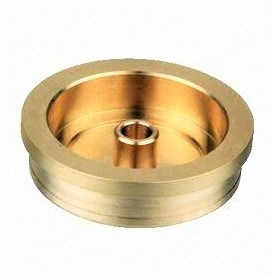 CNC Machined 7075-T6 Aluminum Sanblasted Shiny Bronze, Copper Brass Parts for Auto, Motorcycle