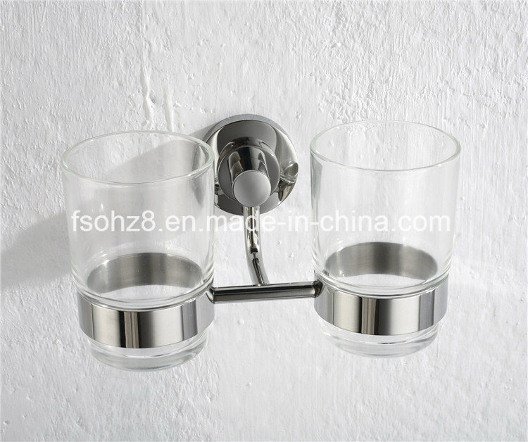 2017hot Stainless Steel Bathroom Accessory Double Tumbler Holder (Ymt-1810)