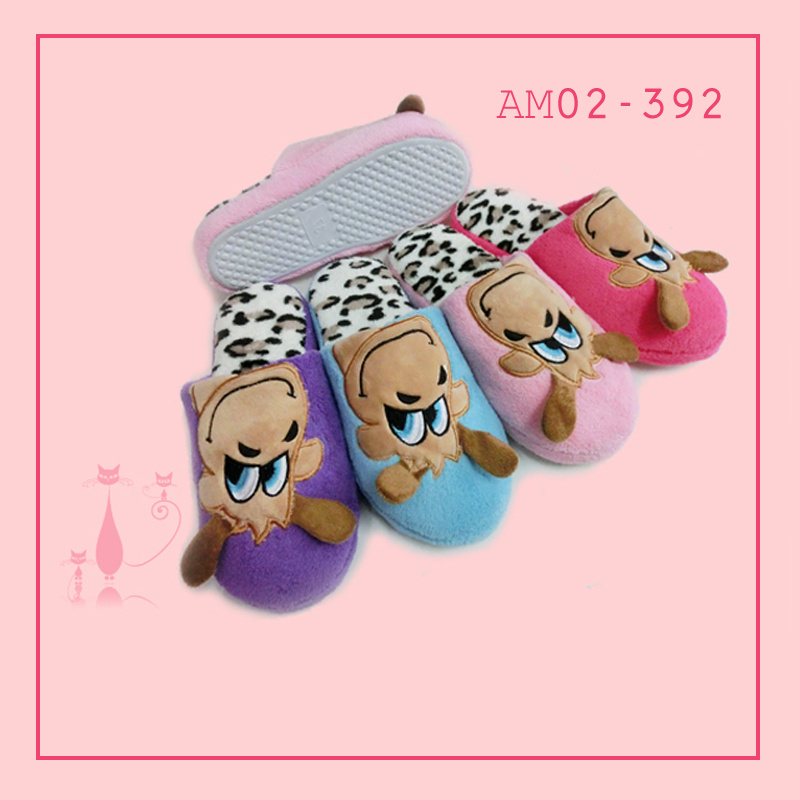 Lady Nice Cute Indoor Home Winter Warm Slippers