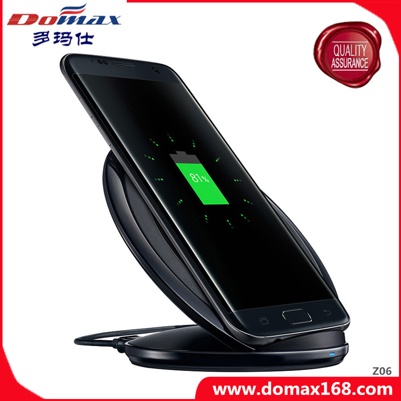 Mobile Phone Accessories Gadget Qi Travel Wireless Charger for Samsung S7