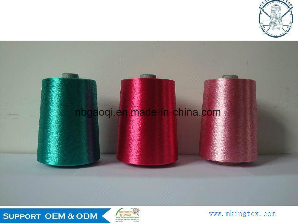 100% High Tenacity & Quality Raw White Viscose Rayon Filament Yarn 450d/1