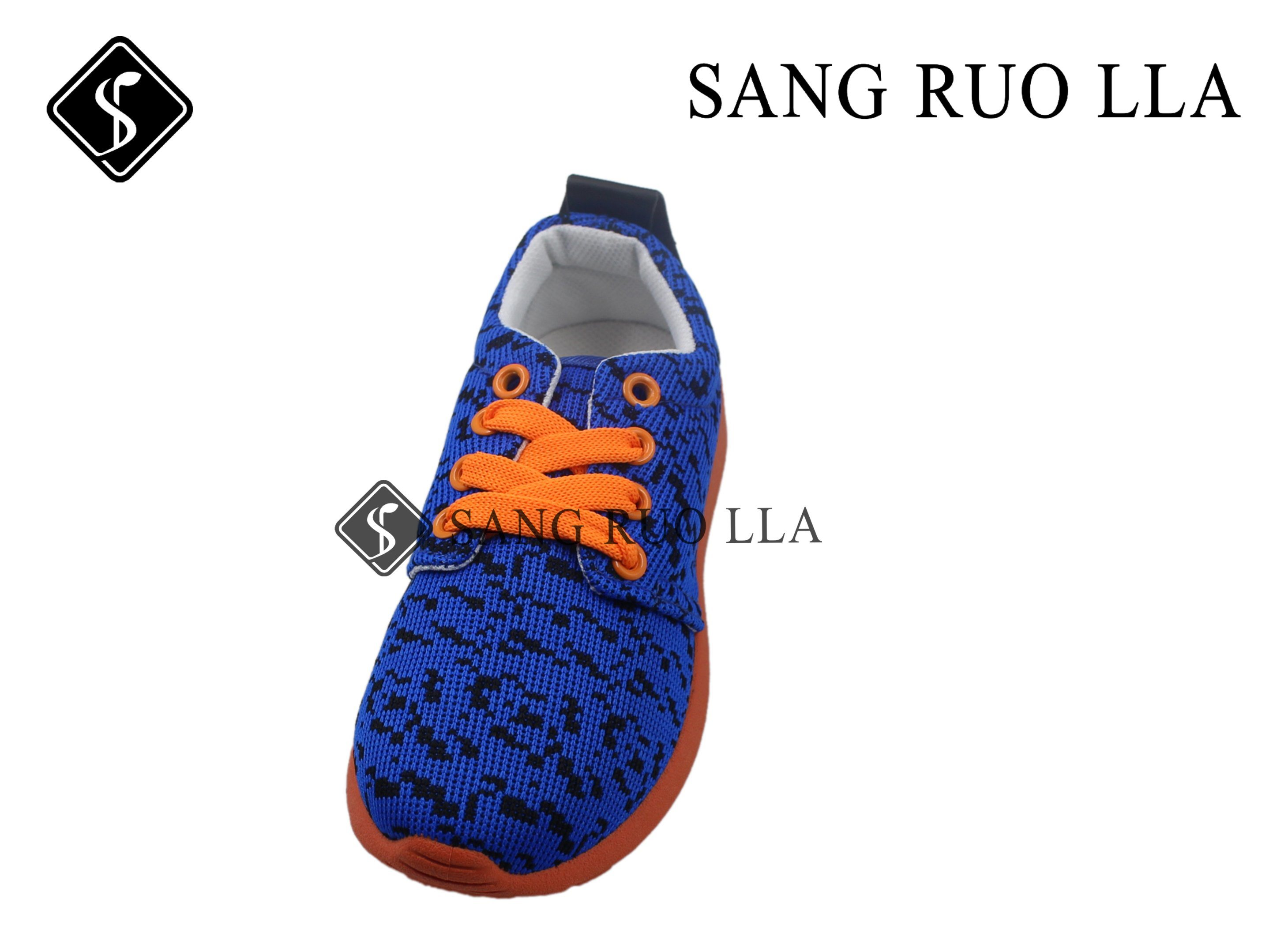 Fly Kints with Injection PVC Stock Kids Shoes