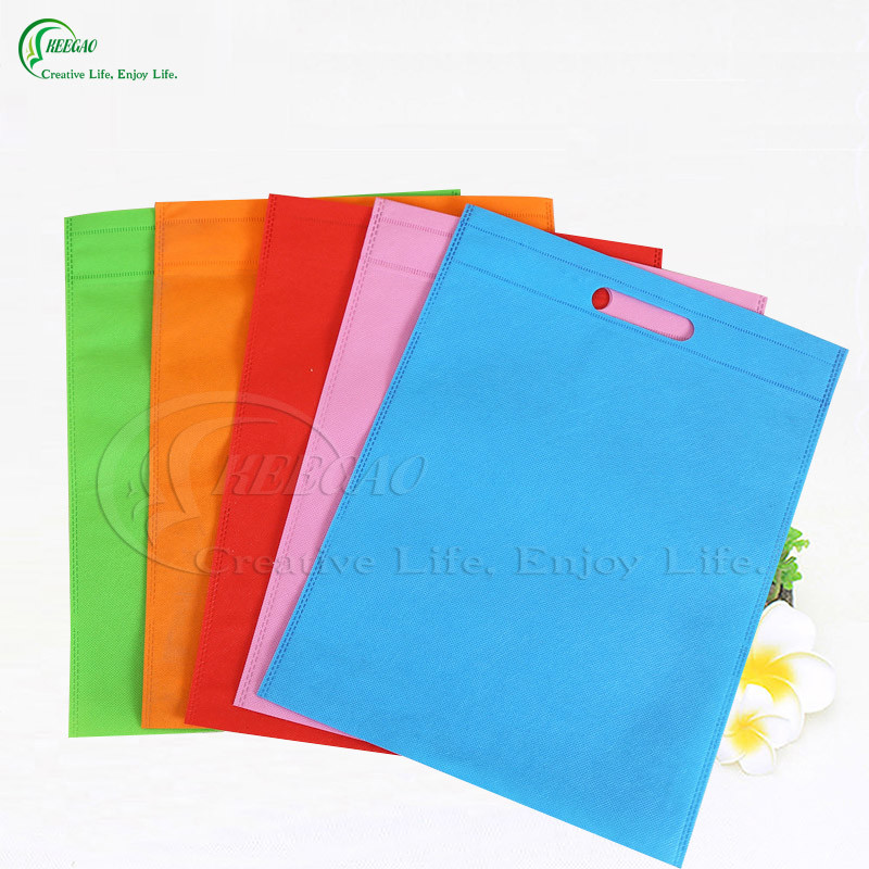 Custom Colorful Non Woven Fabric Shopping Bags for Packaging (KG-PN005)