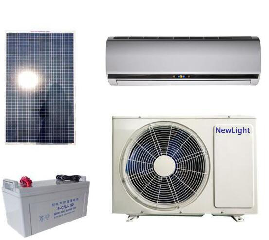 DC 48V Split 100% Solar Air Conditioner for Home Room