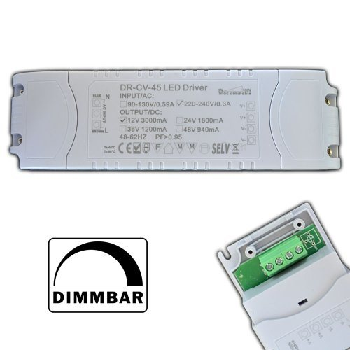 Triac Dimmable 45W 40W LED Driver for Lights