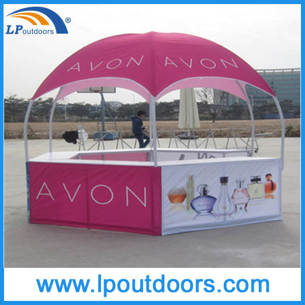 Outdoor Advertising Kiosk Dome Gazebo Tent for Exhibition