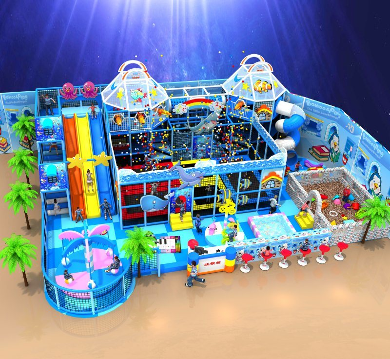 Thomas′s Train Indoor Playground