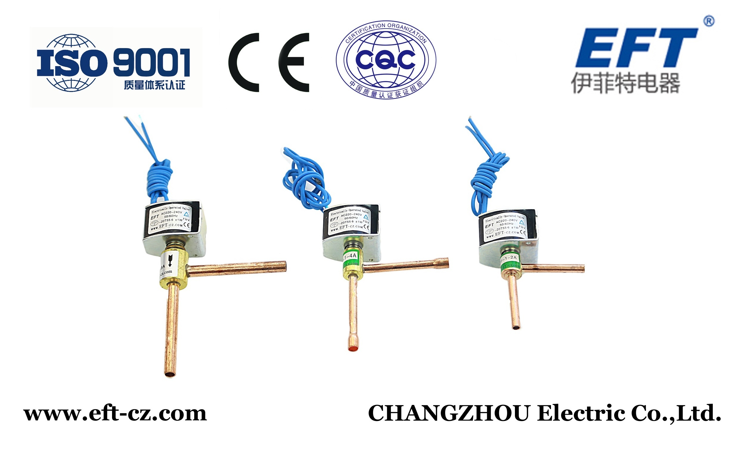 No Leakage Solenoid Valve for Refrigeration, Normal Close Normal Open