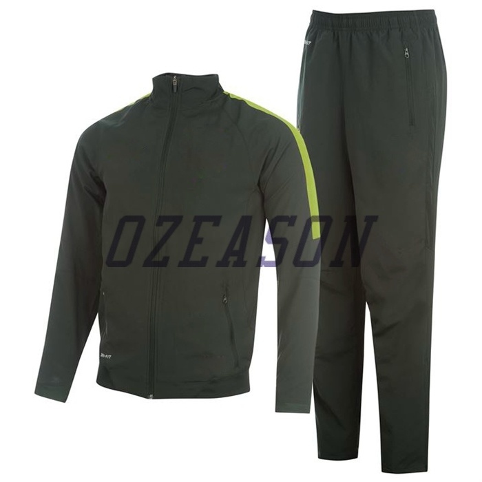 OEM Plain Blank Men′s Sport Jogging Suit (TJ014)