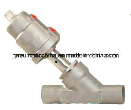 Welded Joint Stainless Steel Angle Seat Valve From Pneumission