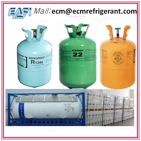 Refrigerant Gas R22 R134A Mixed Refrigerant R404A etc High Quality