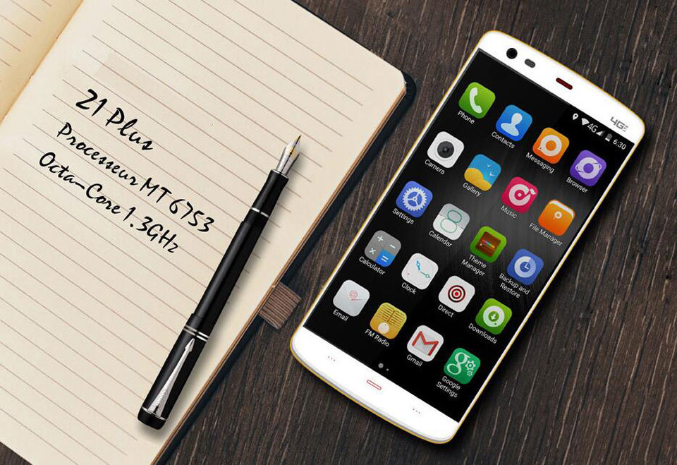 5.5inch Android Smart Phone Mt6752 Octa Core 2GB/16GB