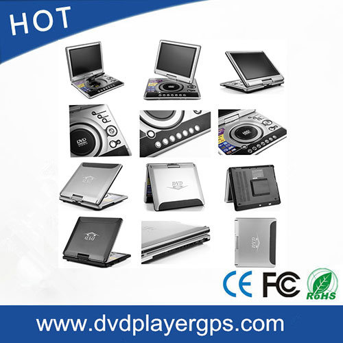 12.1 Inch Portable DVD Player with TV USB Game