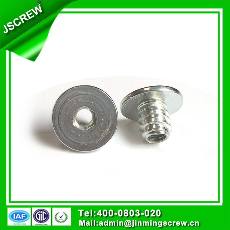 M6 Hex Socket Flat Head Insert Nut for Furniture