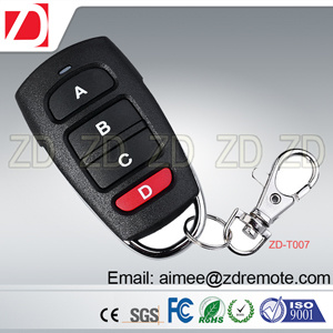315/433MHz Rolling Code Garage Door/Gate Remote Control