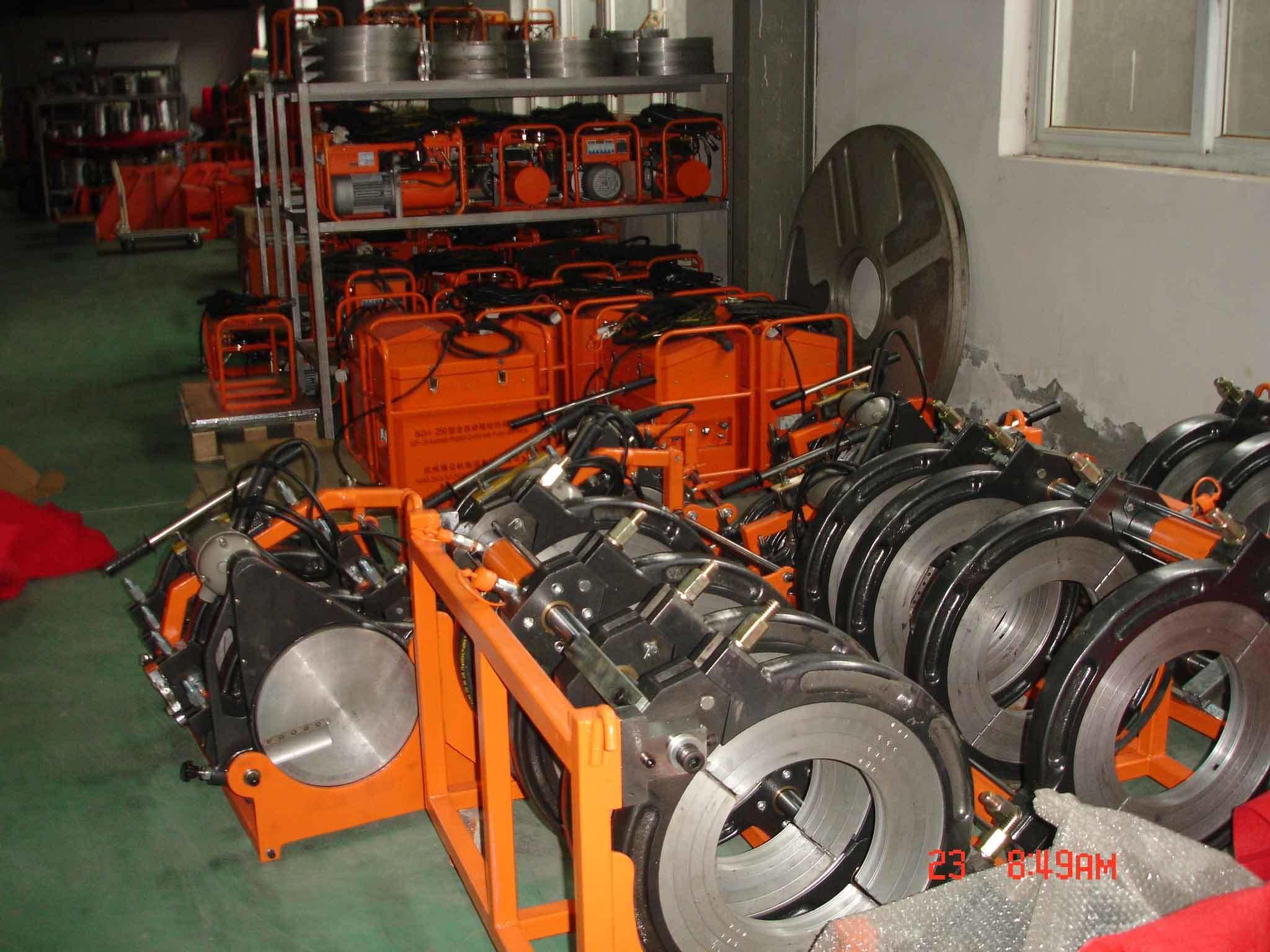 Bzh-630h Hydraulic Butt Welder Machine