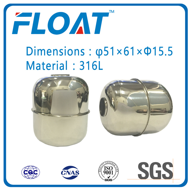 Stainless Steel Ball Magnetic Float Ball for Floating Water Level Switch
