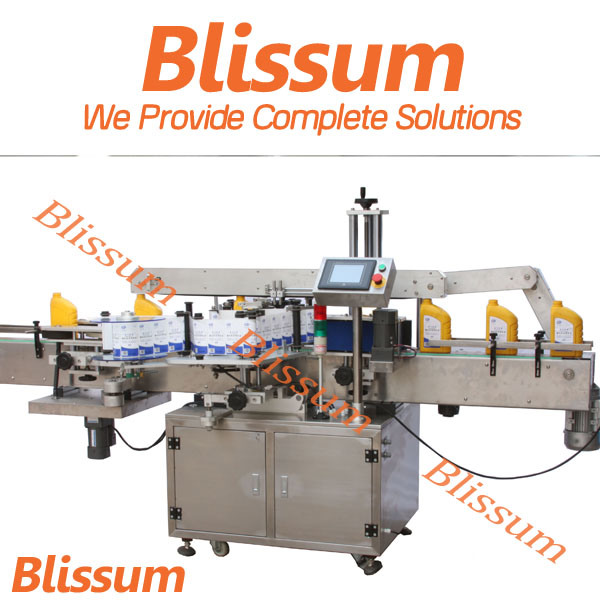 Automatic Adhesive Sticker Labeling Machine