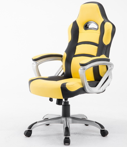 fashion Racing Chair Birght Yellow Race Chair