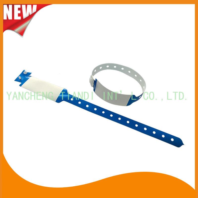 Medical Vinyl ID Wristbands Bracelet Bands (8020A4)