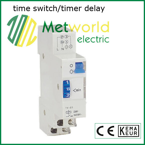 Sttm-E8 Staircase Time Switch / Timer Delay