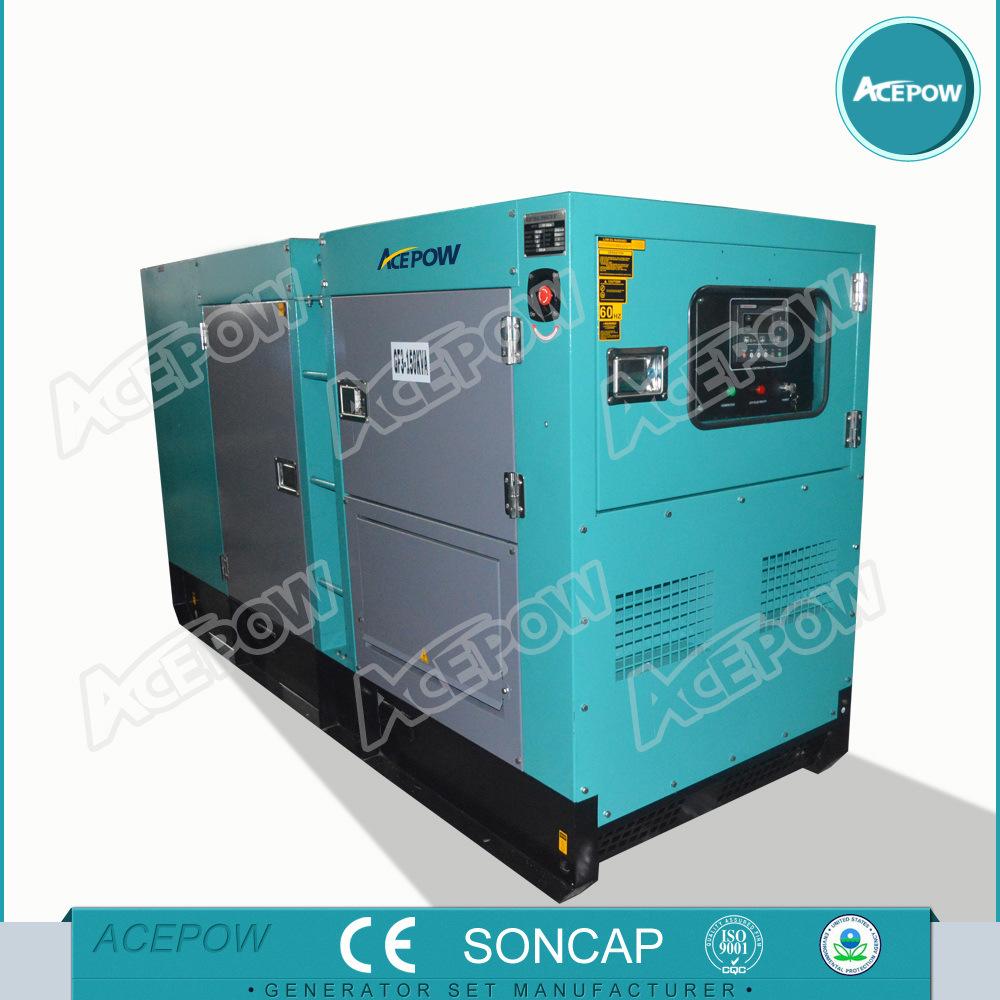 50kVA Silent Generator Set with Cummins Engine