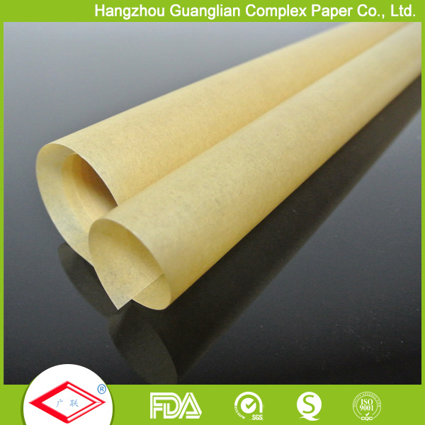 Customized Natural Brown Baking Paper in Sheets and Rolls
