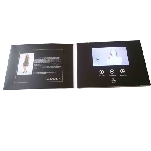 "High Quality 4.3"" LCD Screen Video Greeting Card"