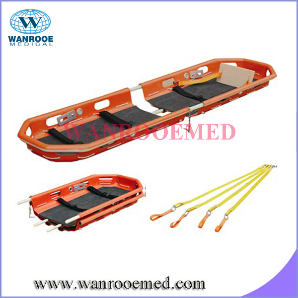 Basket Stretcher with Special Sling Equipment