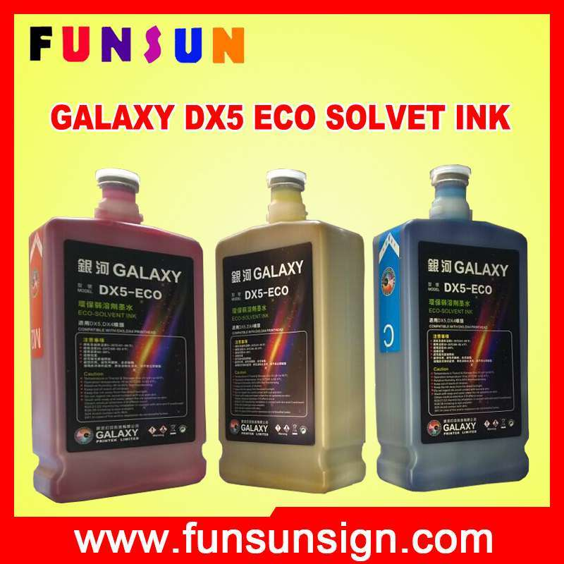 Eco Solvent Ink for Dx4/ Dx5/ Dx7 Head